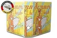 バインダー 2 Ring Binder Lever Arch Folder A4 printed Summer beach