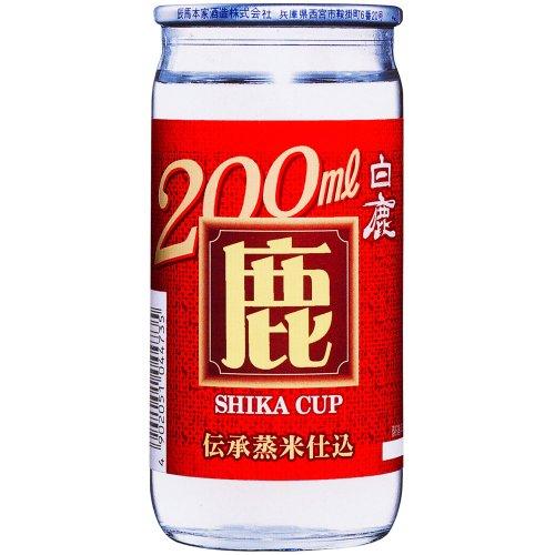 白鹿 鹿カップ [ 日本酒 兵庫県 200mlx30本 ]