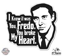 Michael Corleone Fredo Godfather–ビニールステッカー防水デカール