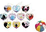 【ビニール玩具】ヨーヨーコレクション プリンセスストーリー(10種アソート)【パンチボール】  / お楽しみグッズ(紙風船)付きセット [おもちゃ&ホビー]