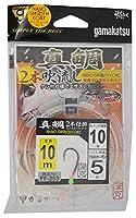 がまかつ(Gamakatsu) 真鯛吹き流し 2本仕掛 10m FF253 10-5