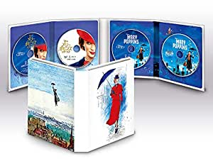 メリー・ポピンズ:2ムービー・コレクション(数量限定) [ブルーレイ+DVD+デジタルコピー+MovieNEXワールド] [Blu-ray]