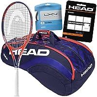 Sloane Stephens Pro Player Head GrapheneタッチRadical MP Tennis Racquet and Gearバンドルパック