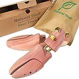 Natural Stuff A シューキーパー シューツリー 木製 レッドシダー 靴の嫌な臭いやしわを解消 お酒落パッケージ付き