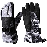 Ski Gloves, Winter Gloves Waterproof Warm Touchscreen Snow Gloves Mens, Womens, Boys, Girls, Kids
