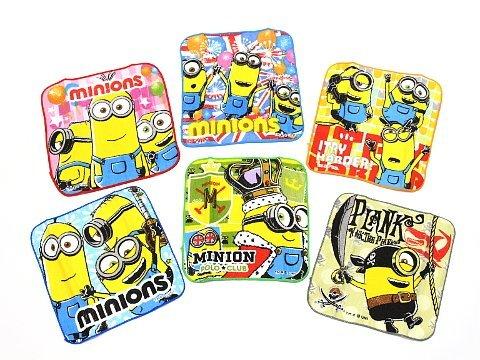 (ミニオンズ)Minions ミニオンズ ミニ タオル アソート 6種 (各1枚ずつ) 計6枚 セット