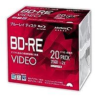 HIDISC BD-RE 2倍速 デジタル放送対応 インクジェットプリンタ対応