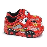 [ディズニー] Disney カーズ C1200 子供スニーカー マジック式 カーズ3 Disney Cars レッド 15.0cm