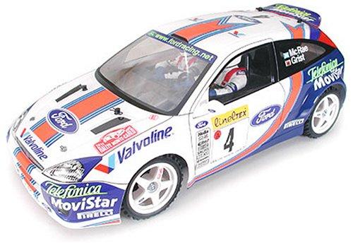 1/10 電動ラジオコントロールカー シリーズ フォードフォーカス WRC 01