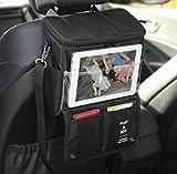 Ohpa 車用収納バッグ ポケット前後座席掛けバッグ かばん 大容量 保冷保温シート ピクニック袋 ビールバッグ 簡単 取付
