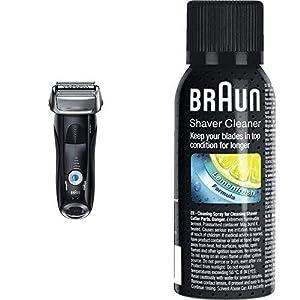 ブラウン シリーズ7 メンズ電気シェーバー 4カットシステム 7842s お風呂剃り可 & シェーバークリーナー SC8000