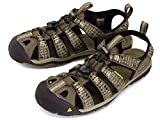 KEEN (キーン) Men's Clearwater CNX 1016293 メンズ クリアウオーター Canteen/Brindle US8.5-約26.5cm