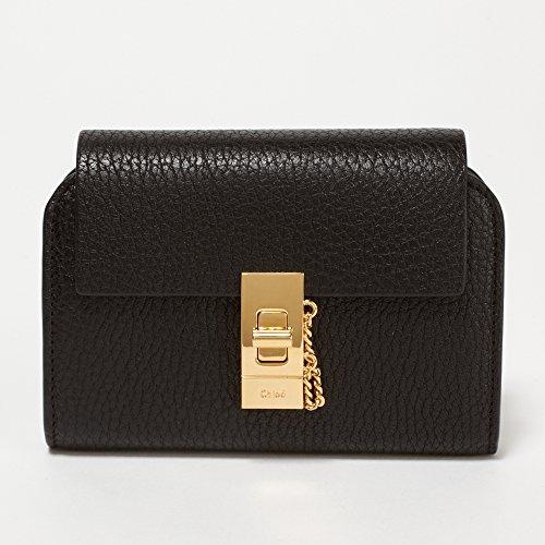 (クロエ) CHLOE 折財布 3P0802-944 001 BLACK [DREW:ドリュー] [並行輸入品]