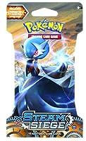 Pokemon TCG :蒸気Siegeぶブースターパックcontaining 10、1パックカードwith over 110新しいカードを収集