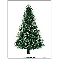ウッド柄パネル オックス クリスマスツリー タペストリー 90cm単位 クリスマス トーカイ