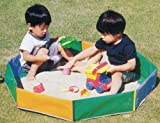 たためる砂場8角(2?3人用)&砂遊び専用砂『さらら』4袋セット