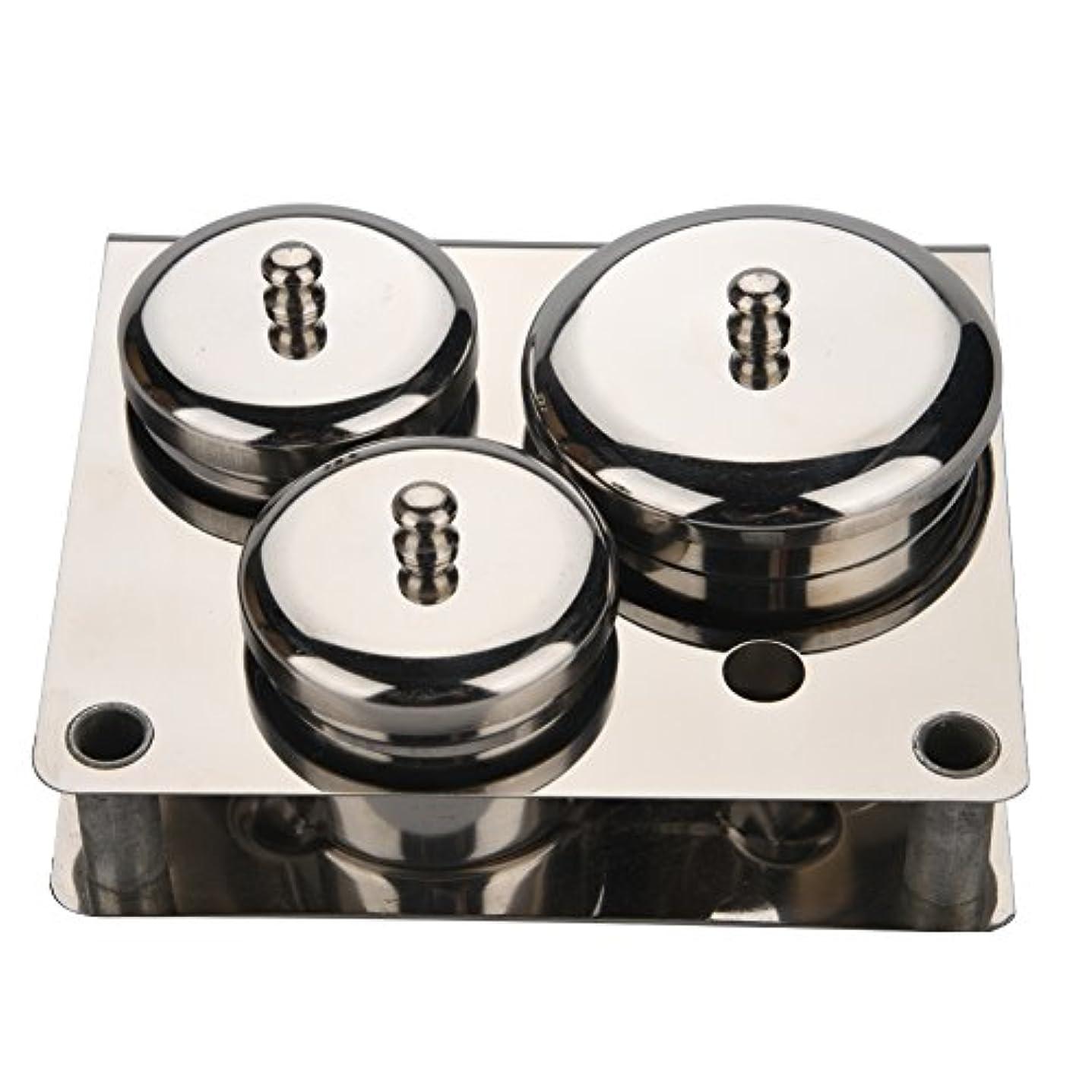 投票場所物理3本ネイルアートミニパウダー&リキッドセット缶ボックス