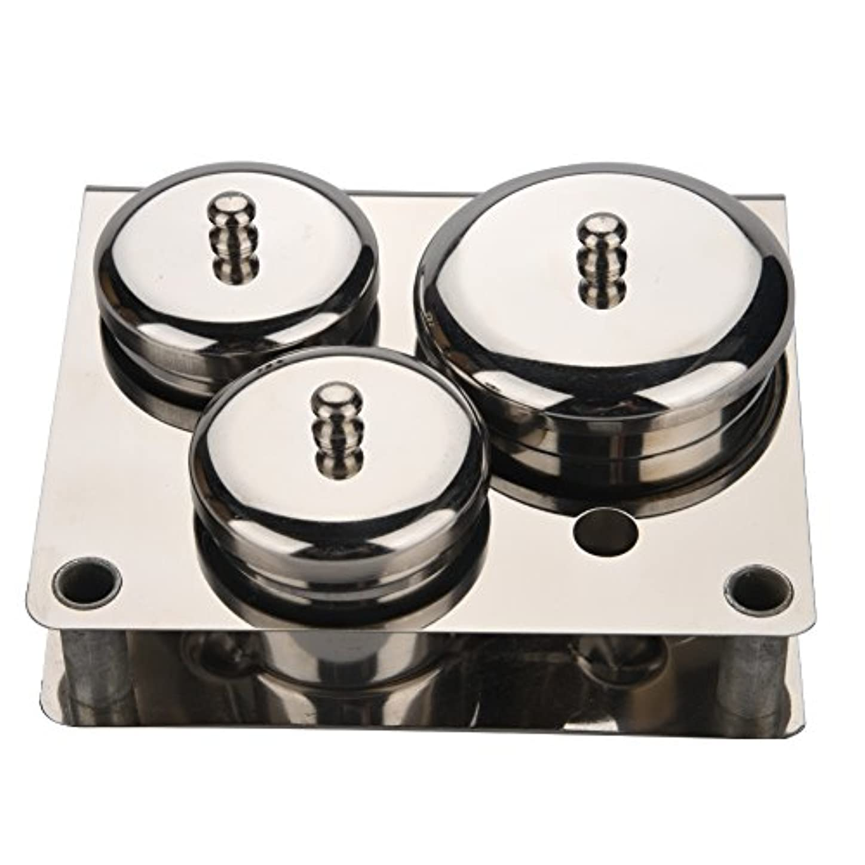 特許看板起訴する3本ネイルアートミニパウダー&リキッドセット缶ボックス