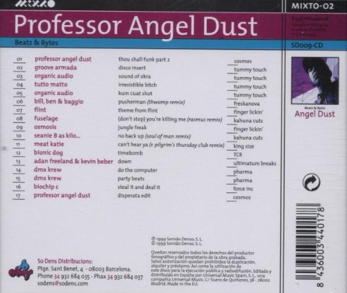 Professor Angel Dust: Beatz &