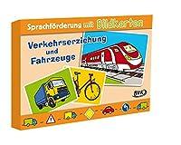 """Sprachfoerderung mit Bildkarten """"Verkehrserziehung und Fahrzeuge"""""""