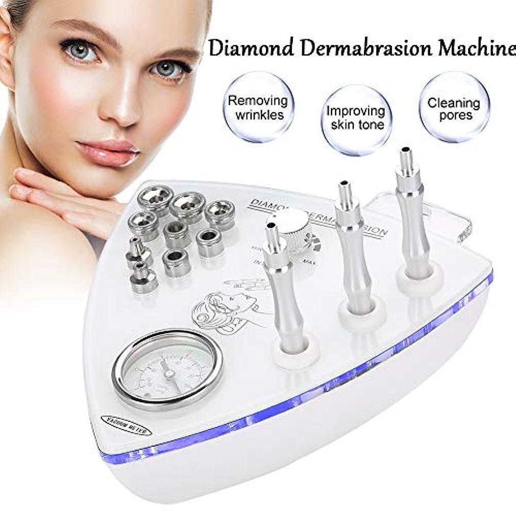 ダイヤモンドマイクロダーマブレーションマシン、真空スパ用9ピースダイヤモンドヘッド付き 水保湿酸素スプレーガン(US)