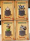 「ドラゴンクエストAM Monster Figure Collection appeared 。メタルSlime Ver。4タイプHen 4つすべてHen 4つすべて」の画像