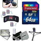 Best Xtechビデオカメラ - Transcend高速SDメモリカードキットW /メモリカード財布for Canon ( 64gb ) Review