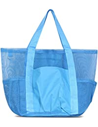 zodacaすべて目的meshtoteバッグ ブルー 2381973