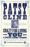 古いTin SignコンサートポスターPatsy Clineポスター