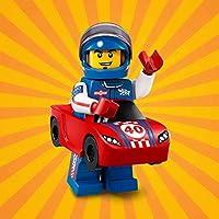 LEGO # 1371021シリーズ18Race Car Guyミニフィギュア