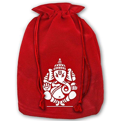 ラッピング袋 ナップサック 巾着袋 ガネーシャ インド 神様...