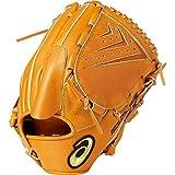 asics(アシックス) 軟式 野球用 グローブ 投手用 (右投げ用) 一般用 GOLD STAGE ROYAL ROAD ゴールドステージ ロイヤルロード サイズ8 2019年モデル 3121A203 ライトブラウン LH(右投げ用)