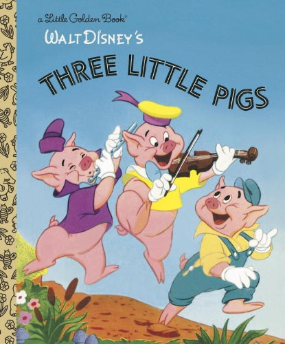 The Three Little Pigs (Disney Classic) (Little Golden Book)の詳細を見る