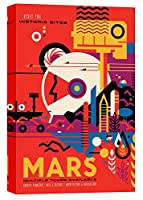 """Epicグラフィティ"""" Visions of the Future : Mars """" Gicleeキャンバス壁アート 26"""" x 40"""" EPIC-CA2640184"""