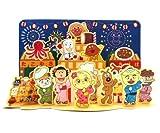 *サマーグリーティングカード/夏カード アンパンマン盆踊り SAR-654-061 夏のご挨拶に最適です!立てて飾れます! 立体カード/ポップアップカード ホールマーク/hallmark