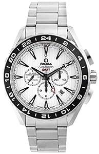 [オメガ] 腕時計 シーマスターアクアテラ ホワイト文字盤 コーアクシャル自動巻 裏蓋スケルトン クロノグラフ 231.10.44.52.04.001 並行輸入品 シルバー
