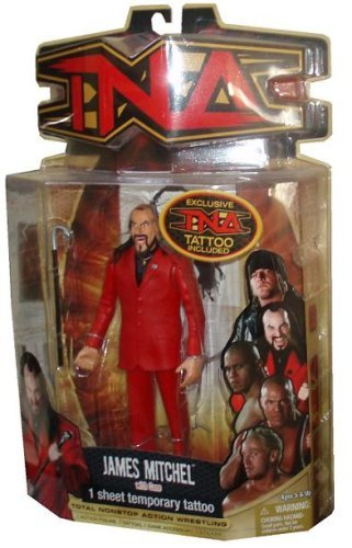 TNA Wrestling Series 8 Action Figure James Mitchell フィギュア ダイキャスト 人形(並行輸入)