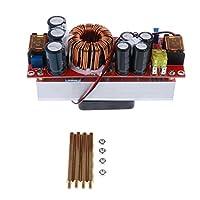 Fenteer DC電源モジュール 昇圧コンバータ 10-60V to 12-80V 短絡保護 高出力 20A 1200W