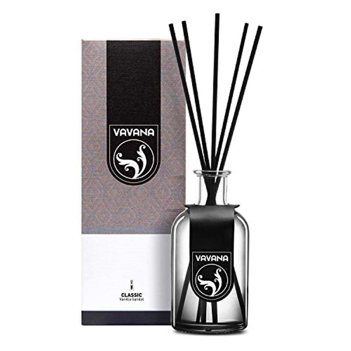Vavana アロマセラピーディフューザースティック リードディフューザーセット アロマホームフレグランスセット エッセンシャルオイルディフューザースティック 天然の香りのオイルブレンド製