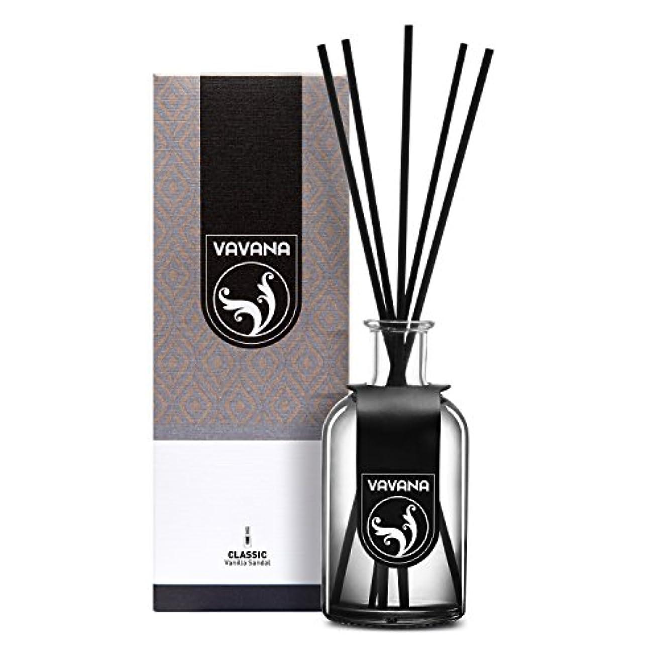 パワーセル一目機密Vavana アロマセラピーディフューザースティック リードディフューザーセット アロマホームフレグランスセット エッセンシャルオイルディフューザースティック 天然の香りのオイルブレンド製