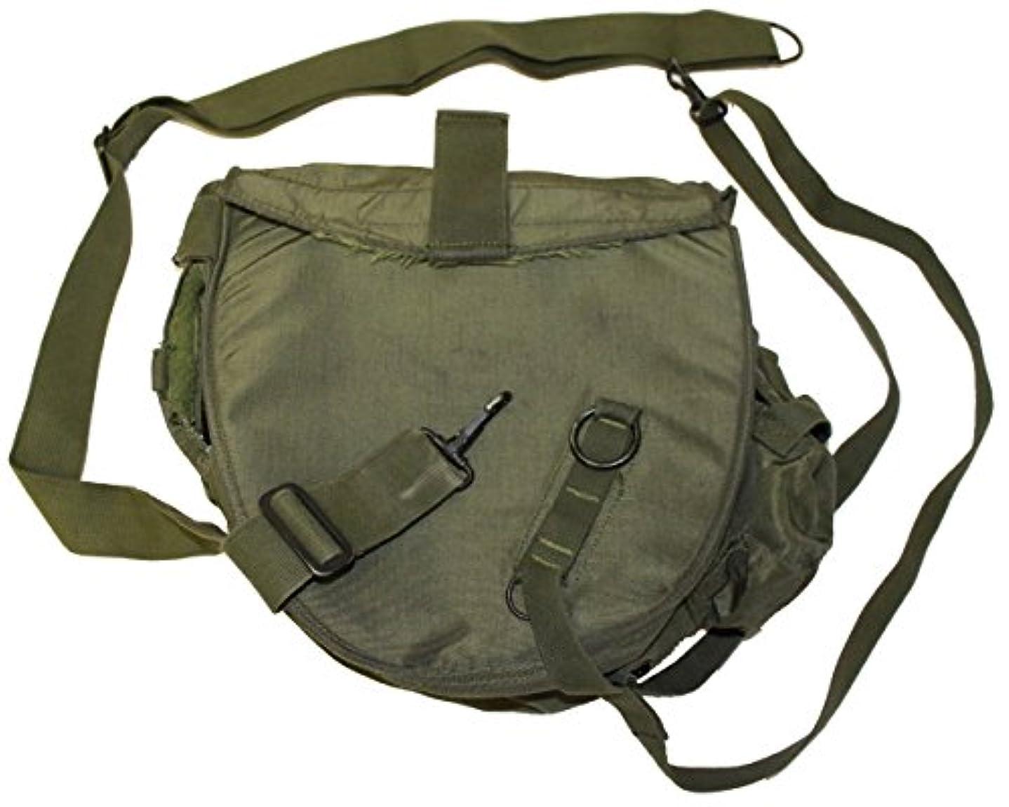 ネクタイうんざり頑固なミリタリーアウトドア服 以前に発行された米国GI OD MCU-2P コーデュラガスマスクバッグ