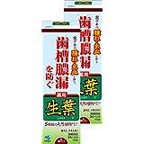 【まとめ買い】生葉(しょうよう) 歯槽膿漏を防ぐ 薬用ハミガキ ハーブミント味 100g×2個 (リーフレット付き) 【医薬部外品】