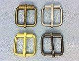●■クラフト金具 管 バックル 内径20mm 線径3mm 10個入り 真鍮古美 ニッケル ゴールド 黒ニッケル 4色展開 鉄製 アンティーク 管美錠 バッグに 加厚 真鍮古美