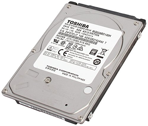 TOSHIBA MQ02ABD100H 2.5インチ 5400rpm 64MB 1TB SSHD 8GB