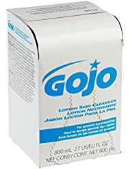 GOJO INDUSTRIES 9112-12 800ml Bag-In-Box Lotion Hand Soap Skin Cleanser by Gojo