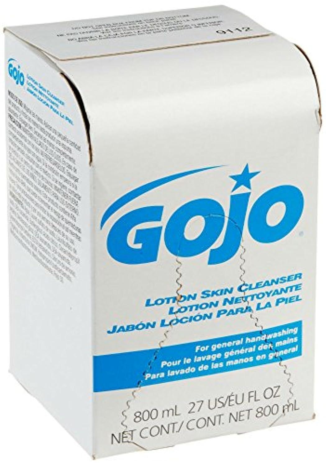 抑制オプションパケットGOJO INDUSTRIES 9112-12 800ml Bag-In-Box Lotion Hand Soap Skin Cleanser by Gojo