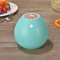 加湿器フィルター 加湿器超音波USB加湿器空気清浄機ホームオフィスアウトドア用オートシャットオフ(118 * 118 * 108mm) ( Color : Blue )