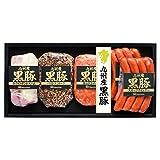 日本ハム 九州産黒豚肉使用 ハム・ソーセージ5点詰合せ