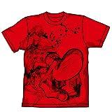 天元突破グレンラガン劇場版 紅蓮篇 カミナTシャツ レッド サイズ:XL