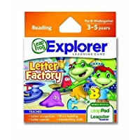 Leapfrog企業によるレターファクトリーLeapfrog Explorer学習ゲーム